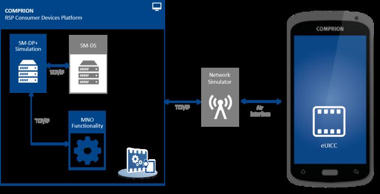 Setup RSP CD Platform for testing SM-DS