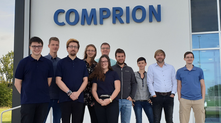 COMPRION Welcomes New Apprentices