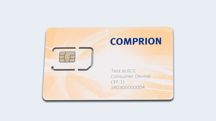 COMPRION Launches First Test eUICC for Consumer Device and RSP Testing