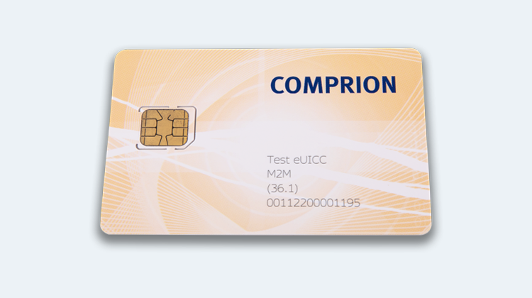 COMPRION Launches First M2M Test eUICC for RSP Testing
