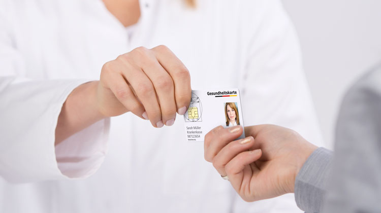 Simulation of German Health Card ('G2')