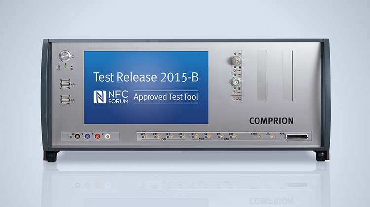 NFC Forum Approves COMPRION Solution for Test Release 2015-B