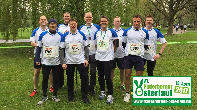 "COMPRION Team Joined the ""Paderborner Osterlauf"" 2017"