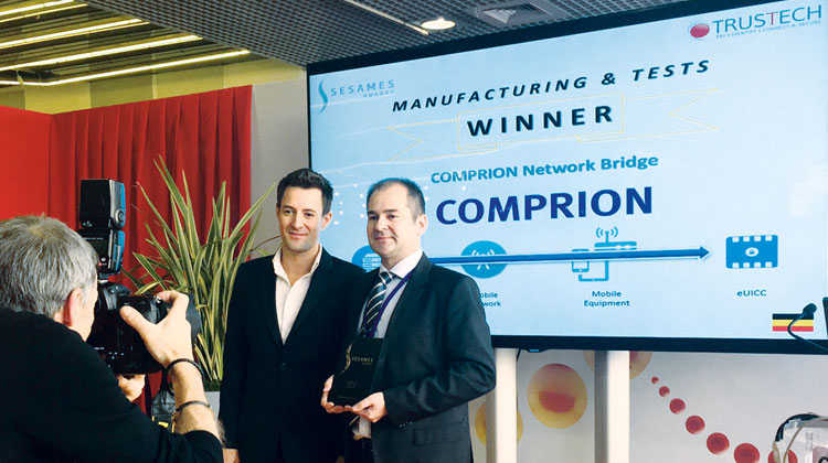 COMPRION Network Bridge Wins SESAMES Awards