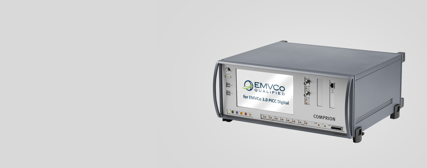 COMPRION EMVCo PICC Digital Test Solution Qualified for EMVCo 3.0