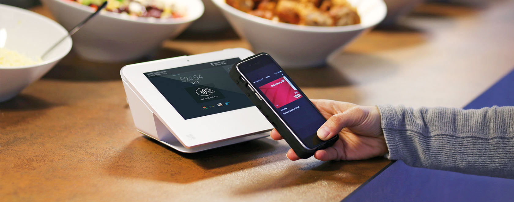COMPRION nano tracer Enables Testing of Mobile Payments at the POS