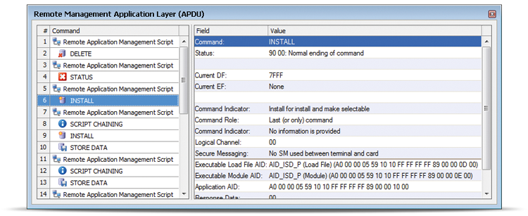 Remote Management Application Layer View