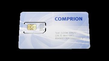 64K/J Test (U)SIM 1.8 V – Mini-UICC