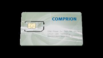 64K/J GSM Phase 2+ 1.8 V Test SIM