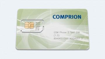 8K GSM Phase 2 Test SIM
